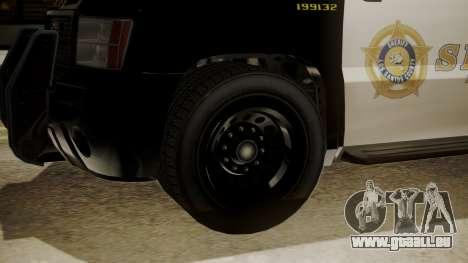 GTA 5 Declasse Granger Sheriff SUV für GTA San Andreas rechten Ansicht