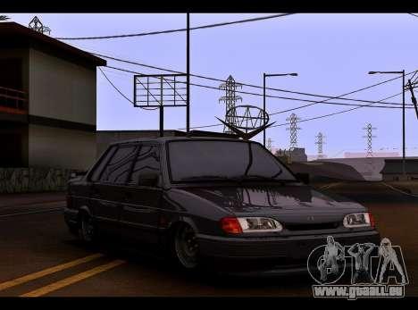VAZ 2115 für GTA San Andreas linke Ansicht