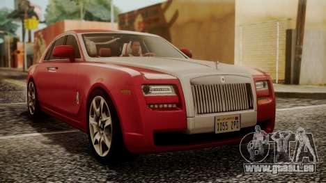 Rolls-Royce Ghost v1 pour GTA San Andreas