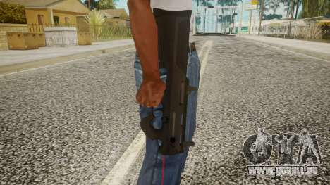 Silenced Pistol by EmiKiller pour GTA San Andreas troisième écran