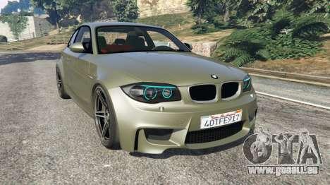 BMW 1M v1.2 pour GTA 5