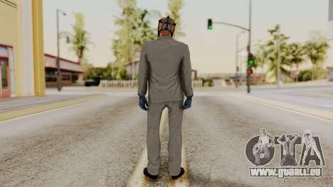 Payday 2 Sokol für GTA San Andreas dritten Screenshot