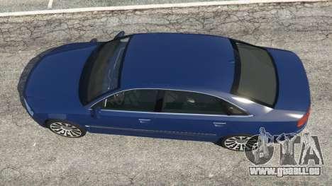 GTA 5 Audi A8 vue arrière