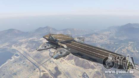 S.H.I.E.L.D. Helicarrier pour GTA 5