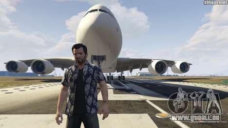 GTA 5 Airbus A380-800 v1.1 troisième capture d'écran