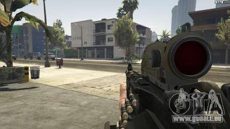 GTA 5 M249 huitième capture d'écran