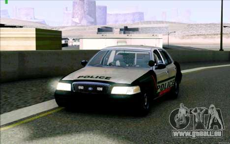 Weathersfield Police Crown Victoria pour GTA San Andreas