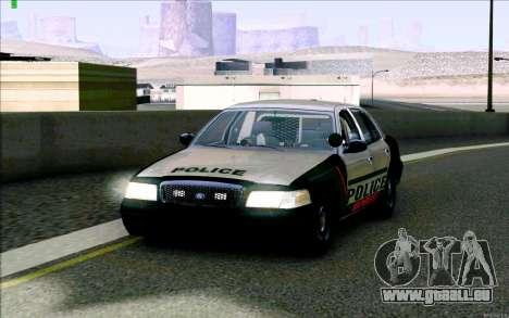 Weathersfield Police Crown Victoria für GTA San Andreas
