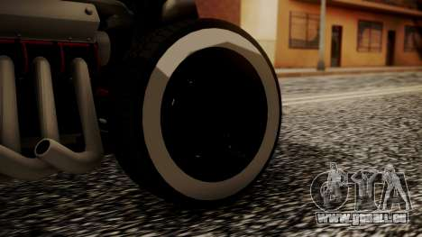 Hotknife Modificado pour GTA San Andreas sur la vue arrière gauche