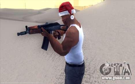 Realistic Weapons Pack pour GTA San Andreas quatrième écran