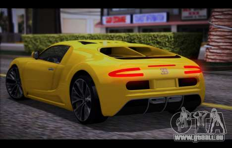 Adder from GTA 5 pour GTA San Andreas laissé vue