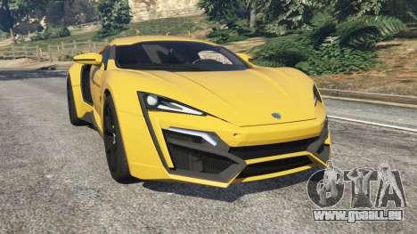 Lykan HyperSport 2014 v1.2 pour GTA 5