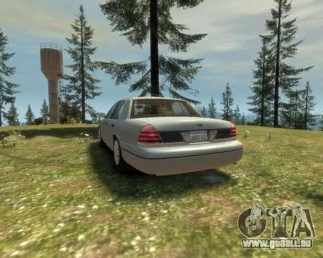 2003 Ford Crown Victoria pour GTA 4 est un droit