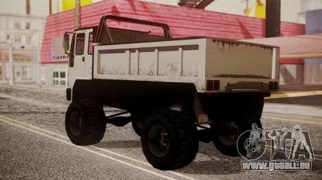 DFT Monster Truck 30 pour GTA San Andreas laissé vue