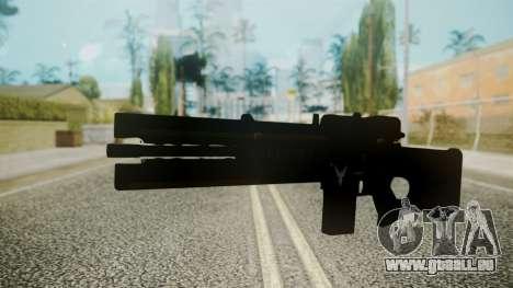 VXA-RG105 Railgun with Stripes für GTA San Andreas zweiten Screenshot