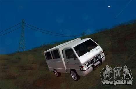 Mitsubishi L300 FB Van pour GTA San Andreas