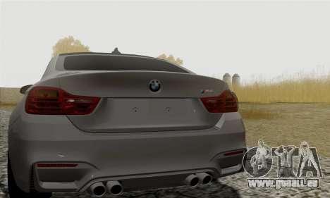 BMW M4 F82 pour GTA San Andreas vue de droite