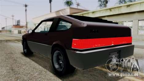 Blista Compact from Vice City Stories pour GTA San Andreas laissé vue