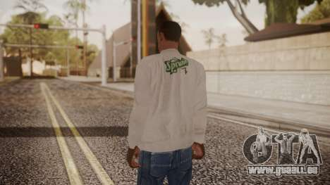 Sprunk Sweater Gray für GTA San Andreas dritten Screenshot