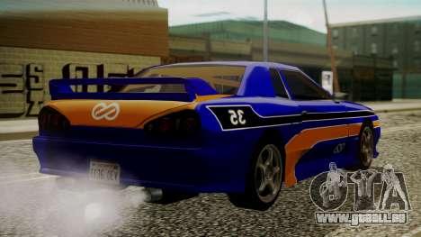 Elegy NR32 with Neon Exclusive PJ für GTA San Andreas linke Ansicht