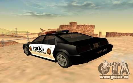 Vier der Polizei Buffalo für GTA San Andreas linke Ansicht