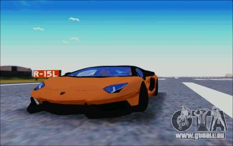 Lamborghini Aventador MV.1 [IVF] pour GTA San Andreas