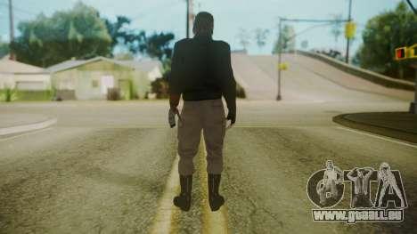 Venom Snake [Jacket] pour GTA San Andreas troisième écran