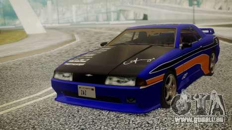 Elegy NR32 without Neon Exclusive PJ pour GTA San Andreas vue arrière