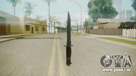 Atmosphere Knife v4.3 für GTA San Andreas zweiten Screenshot