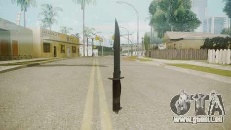 Atmosphere Knife v4.3 pour GTA San Andreas deuxième écran