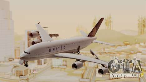 Airbus A380-800 United Airlines für GTA San Andreas