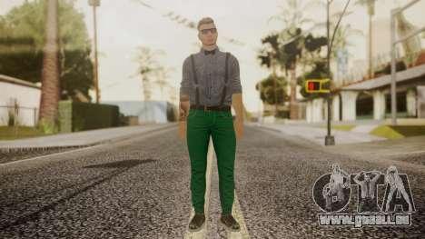 GTA Online Skin Hipster pour GTA San Andreas deuxième écran