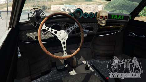 Volkswagen Karmann-Ghia Typ 14 pour GTA 5