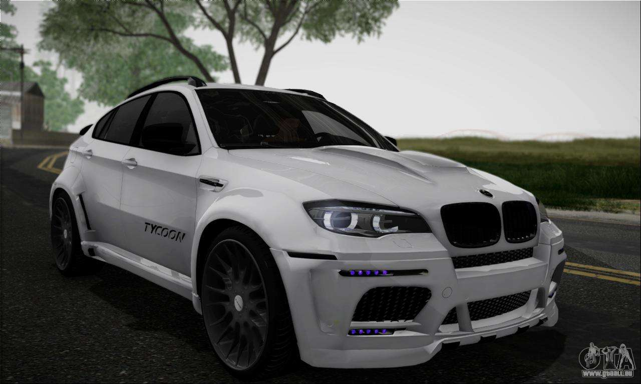 bmw x6m hamann final f r gta san andreas. Black Bedroom Furniture Sets. Home Design Ideas