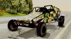 Buggy Camo Shark Mouth