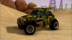 Volkswagen Baja Buggy Camo Shark Mouth