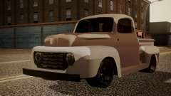 Ford F-100 1948 Simple Black Edition