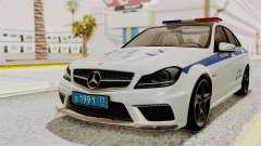 Mercedes-Benz C63 AMG STSI le Ministère de l'int