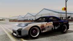 Mazda RX-7 Black Rock Shooter Itasha