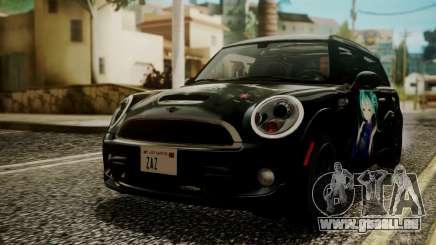 Mini Cooper Clubman 2011 Hatsune Miku Itasha pour GTA San Andreas