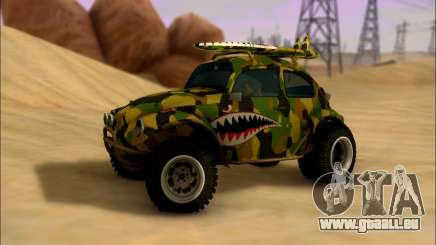 Volkswagen Baja Buggy Camo Shark Mouth für GTA San Andreas