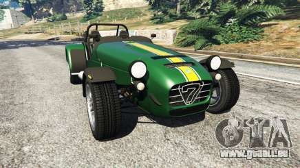 Caterham Super Seven 620R v1.5 [green] pour GTA 5