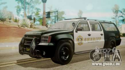 GTA 5 Declasse Granger Sheriff SUV IVF für GTA San Andreas