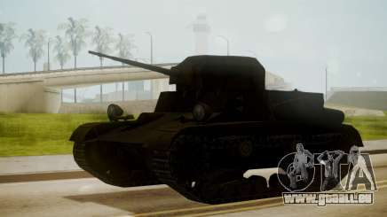 T2 Light Tank für GTA San Andreas