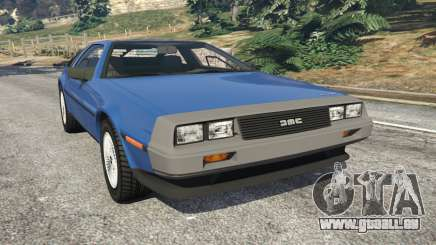 DeLorean DMC-12 v1.1 pour GTA 5