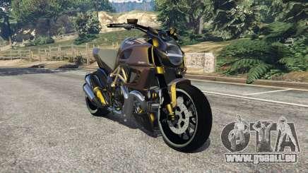 Ducati Diavel Carbon 11 v1.1 pour GTA 5