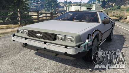 DeLorean DMC-12 Back To The Future v0.4 pour GTA 5