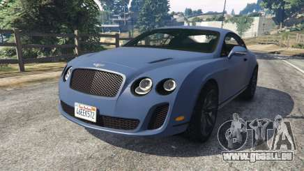 Bentley Continental Supersports [Beta2] pour GTA 5