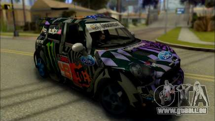 Mini Cooper Gymkhana 6 with Drift Handling für GTA San Andreas