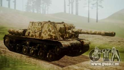 ISU-152 Panther Desert from World of Tanks pour GTA San Andreas